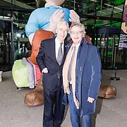 NLD/Huizen/20161130 - Staatsbezoek Belgie dag 3 - Koningin Mathilde en Koningin Maxima bezoeken Utrecht CS, Rogier van Boxtel en ......