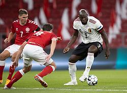 Romelu Lukaku (Belgien) under UEFA Nations League kampen mellem Danmark og Belgien den 5. september 2020 i Parken, København (Foto: Claus Birch).