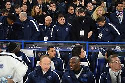 09.03.2016, Stamford Bridge, London, ENG, UEFA CL, FC Chelsea vs Paris Saint Germain, Achtelfinale, Rueckspiel, im Bild verratti marco // during the UEFA Champions League Round of 16, 2nd Leg match between FC Chelsea vs Paris Saint Germain at the Stamford Bridge in London, Great Britain on 2016/03/09. EXPA Pictures © 2016, PhotoCredit: EXPA/ Pressesports/ LAHALLE PIERRE<br /> <br /> *****ATTENTION - for AUT, SLO, CRO, SRB, BIH, MAZ, POL only*****