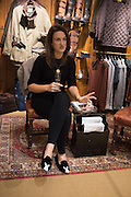 SOPHIE MONEY-COUTTS, Tatler and Dubarry host an evening with Clare Balding, Dubarry of Ireland, 34 Duke of York's Sq. London. 13 October 2016.