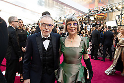 Lois Burwell and guest arrive on the red carpet of The 91st Oscars® at the Dolby® Theatre in Hollywood, CA on Sunday, February 24, 2019.