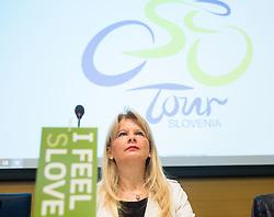 Maja Pak of STO during press conference of cycling race 24th Tour de Slovenie 2017, on May 4, 2017 in Telekom Slovenije, Ljubljana, Slovenia. Photo by Vid Ponikvar / Sportida
