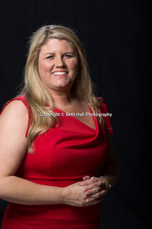 Portrait of Mandy Mackie for 40 under 40 for Arkansas Business on Friday, May 1, 2015, in Fayetteville, Ark.<br /> <br /> Photo by Beth Hall
