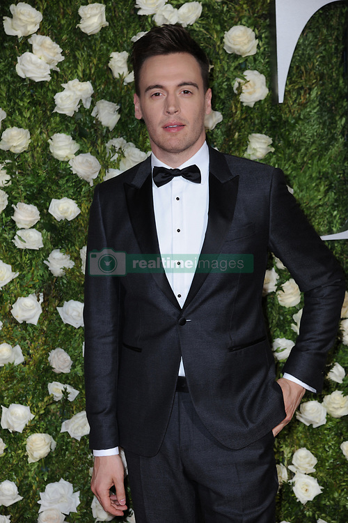 June 11, 2017 - New York, NY, USA - June 11, 2017  New York City..Erich Bergen attending the 71st Annual Tony Awards arrivals on June 11, 2017 in New York City. (Credit Image: © Kristin Callahan/Ace Pictures via ZUMA Press)