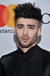 Zayn Malik attends the Clive Davis and Recording Academy Pre-GRAMMY Gala and GRAMMY Salute to Industry Icons Honoring Jay-Z on January 27, 2018 in New York City.. Photo by Lionel Hahn/ABACAPRESS.COM