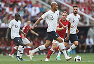 Steven Nzonzi of France during the 2018 FIFA World Cup Russia, Group C football match between Denmark and France on June 26, 2018 at Luzhniki Stadium in Moscow, Russia- Photo Tarso Sarraf / FramePhoto / ProSportsImages / DPPI