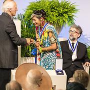 NLD/Middelburg/20180516 -Four Freedom Awards 2018, De award voor de vrijwaring van vrees is uitgereikt aan mevrouw Urmila Chaudhary