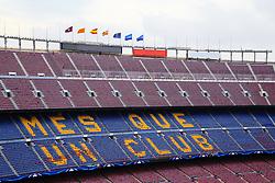 A general view of the Camp Nou Stadium - Mandatory by-line: Matt McNulty/JMP - 14/03/2018 - FOOTBALL - Camp Nou - Barcelona, Catalonia - Barcelona v Chelsea - UEFA Champions League - Round of 16 Second Leg