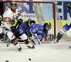 28.02.2010, Dom sportova, Zagreb, CRO, EBEL, KHL Medvescak Zagreb vs Graz 99ers, im Bild  Kroselj Gasper. EXPA Pictures © 2010, PhotoCredit: EXPA/ PIXSELL / SPORTIDA PHOTO AGENCY