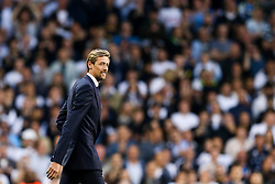 Peter Crouch walks out as Tottenham Hotspur put on a farewell show with former and current players after the final game at White Hart Lane before it's closure for demolition and redevelopment - Rogan Thomson/JMP - 14/05/2017 - FOOTBALL - White Hart Lane - London, England - Tottenham Hotspur v Manchester United - Premier League.