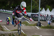 #49 (NYHAUG Tory) CAN during round 3 of the 2017 UCI BMX  Supercross World Cup in Zolder, Belgium,