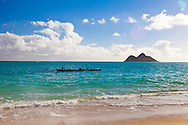 """Lanikai, which translates to, """"Heavenly Sea,"""" is a beautiful sandy beach on the windward side of Oahu, located about 30 minutes from downtown Honolulu."""