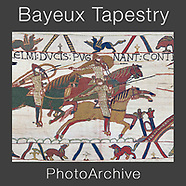 The BAYEUX TAPESTRY Wall Art Prints by Paul E Williams
