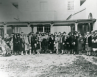 1926 Ladies in the backyard of the Hollywood Studio Clubs on Lodi Pl.