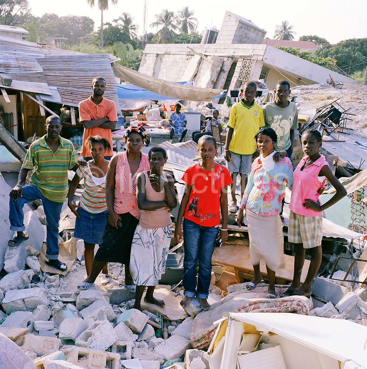 On Tuesday 12th of January at 16.53pm local time the biggest Earthquake to hit Haiti for 200 years struck with devastating force. 230,000 people were killed, 300,000 injured and 1.2 million left needing emergency shelter. Survivors have lost family, homes, livelihoods and essential services. Hospitals, schools and government buildings were also destroyed'. These pictures are of the survivors three weeks later.