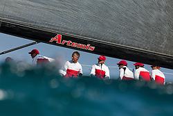 Coastal race. TP52 worlds, Spain, Valencia, 7th of October 2010 (5-9 October) © Sander van der Borch / Artemis