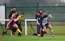 Lailand Gordon of Bristol Rugby Academy U18 - Mandatory by-line: Paul Knight/JMP - 11/02/2017 - RUGBY - SGS Wise Campus - Bristol, England - Bristol Academy v Gloucester Academy - Premiership Rugby Academy U18 League