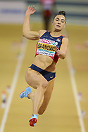 Ivana Spanovic (Serbia), Long Jump, during the European Athletics Indoor Championships 2019 at Emirates Arena, Glasgow, United Kingdom on 1 March 2019.