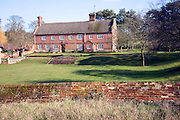 Traditional long farmhouse building, Sudbourne, Suffolk, England