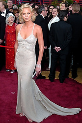 Feb. 29, 2004 - U.S. - KRT ENTERTAINMENT STORY SLUGGED: OSCARS KRT PHOTO BY ABACA PRESS (March 1) Charlize Theron arrives at the 76th Academy Awards on Sunday, February 29, 2004, in Los Angeles, California. (gsb) 2004 (Credit Image: © Staff/TNS/ZUMAPRESS.com)