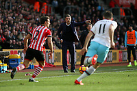 Football - 2016 / 2017 Premier League - Southampton vs. West Ham United<br /> <br /> West Ham United Manager Slaven Bilic gives some directions to his team at St Mary's Stadium Southampton England<br /> <br /> COLORSPORT/SHAUN BOGGUST