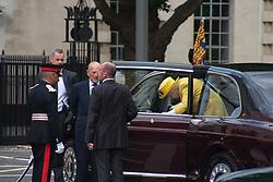 July 13, 2017 - London, England, United Kingdom - Her Majesty, Queen Elizabeth II, accompained by Prince Phillip, the Duke of Edinburgh, opens the new Headquarters of the Metropolitan Police, london on July 13, 2017  (Credit Image: © Alberto Pezzali/NurPhoto via ZUMA Press)