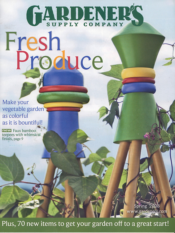 Gardener's Supply Company Catalog Photography