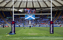 A general view before kick-off during the NatWest 6 Nations match at the Stadio Olimpico, Rome.