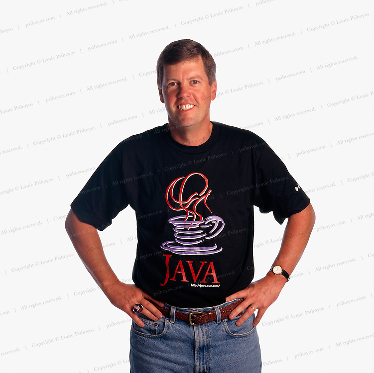 Scott McNealy, chairman, president and co-founder of Sun Microsystems photographed at company headquarters in California.  SUN was originally an acronym for Standford University Network.