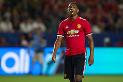 July 15, 2017 - Carson, California, U.S - Manchester United F Anthony Martial (11) during the summer friendly between Manchester United and the Los Angeles Galaxy at the StubHub Center. (Credit Image: © Brandon Parry via ZUMA Wire)