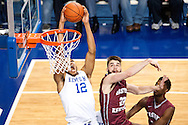 Karl-Anthony Towns.<br /> <br /> The University of Kentucky men's basketball team beat Eastern Kentucky University 82-49 in Lexington's Rupp Arena on Sunday, December 7, 2014.<br /> <br /> Photo by Elliott Hess   UK Athletics