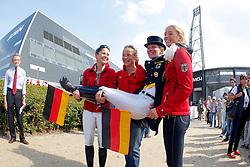 Gold Medal winners team Germany<br /> PSI FEI European Championships Dressage - Herning 2013<br /> © Dirk Caremans