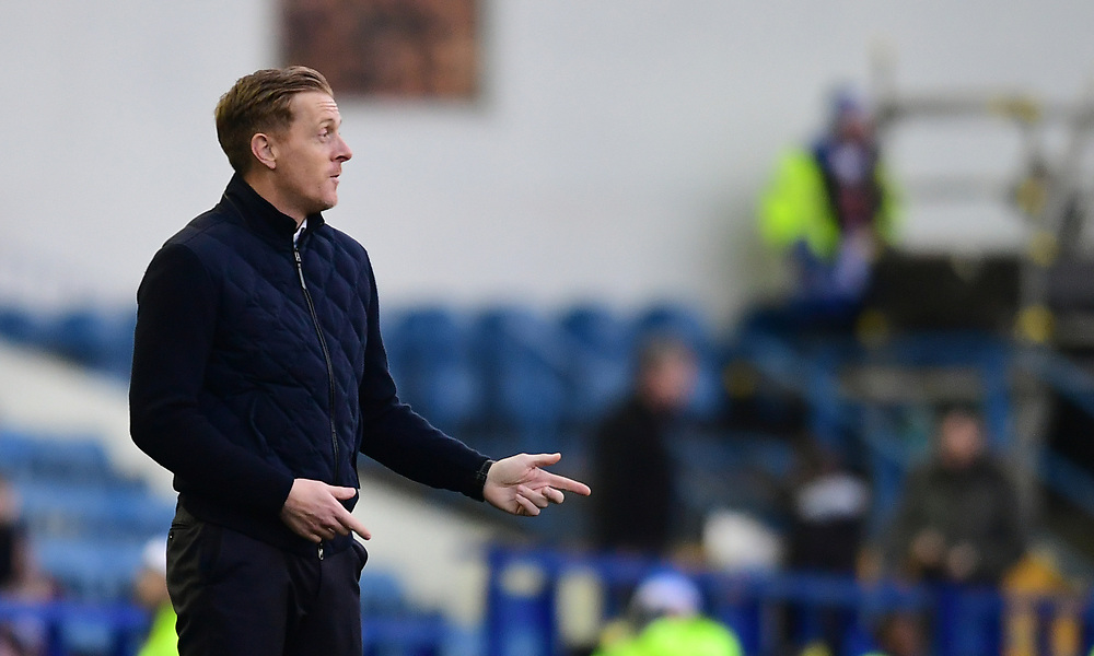 Middlesbrough manager Garry Monk shouts instructions to his team from the technical area<br /> <br /> Photographer Chris Vaughan/CameraSport<br /> <br /> The EFL Sky Bet Championship - Sheffield Wednesday v Middlesbrough - Saturday 23rd December 2017 - Hillsborough - Sheffield<br /> <br /> World Copyright © 2017 CameraSport. All rights reserved. 43 Linden Ave. Countesthorpe. Leicester. England. LE8 5PG - Tel: +44 (0) 116 277 4147 - admin@camerasport.com - www.camerasport.com