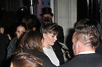 LONDON - FEBRUARY 13: Alexandra Roach attends the public relations disaster that was the outside arrivals at the ELLE Style Awards at the Savoy Hotel, London, UK on February 13, 2012. (Photo by Richard Goldschmidt)