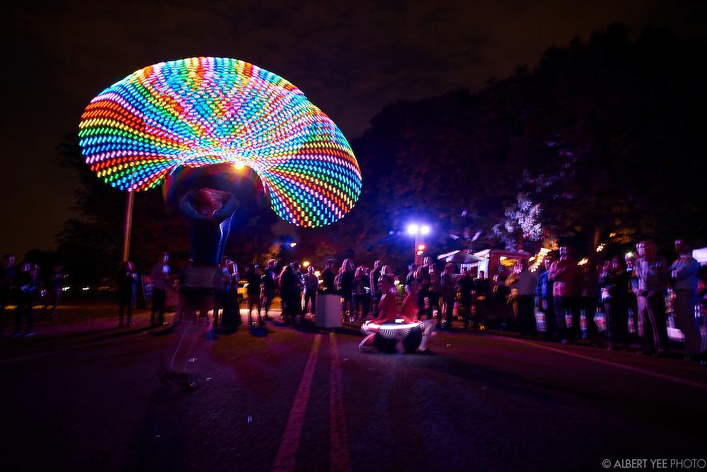 GLOW in the Park 2015<br /> Fairmount Park Conservancy<br /> Smith Memorial Arch<br /> October 22, 2015