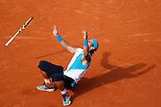 Roland Garros. Paris, France. June 10th 2007..Men's Final..Rafael NADAL wins against Roger FEDERER.