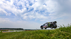 Petter Solberg during day three of the 2018 FIA World Rallycross Championship at Silverstone, Towcester.