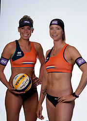 Sanne Keizer, Madelein Meppelink during the BTN photoshoot on 3 september 2020 in Den Haag.