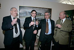 Buchmann Jacky, Belliard Jean, Devos Ingmar, Mathy Eugene<br /> CSI-W Mechelen 2006<br /> Photo © Dirk Caremans