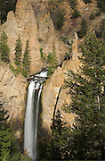 Tower Falls in Yellowstone National Park, Wyoming.
