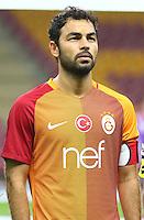 Turkey superlig match between Galatasaray and Kardemir Karabukspor at Turk Telekom Arena in Istanbul , Turkey , August 22  ,2016.<br /> Final Score : Galatasaray 1 - Kardemir Karabukspor 0<br /> Pictured: Selcuk Inan of Galatasaray .