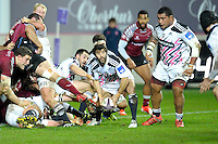 Jerome Fillol - 11.12.2014 - Stade Francais / Newcastle Falcons - European Rugby Challenge Cup<br />