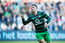 Steven Berghuis of Feyenoord during the Dutch Eredivisie match between Heracles Almelo and Feyenoord Rotterdam at Polman stadium on September 09, 2017 in Almelo, The Netherlands