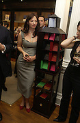 ' Kate Westbrook'  (  Samantha Weinberg) The Moneypenny diaries book launch. Smythson, 40 New Bond St. London.  4 October 2005. . ONE TIME USE ONLY - DO NOT ARCHIVE © Copyright Photograph by Dafydd Jones 66 Stockwell Park Rd. London SW9 0DA Tel 020 7733 0108 www.dafjones.com