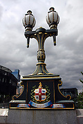 Australia, Melbourne Coat of Arms, on Princes Bridge
