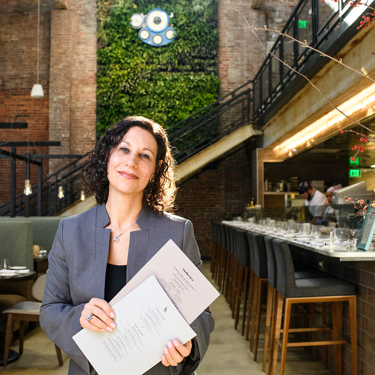 Baltimore, Maryland - January 19, 2018: Nancy Trice, co-owner of Gunther & Co. stands for a portrait.<br /> <br /> <br /> CREDIT: Matt Roth