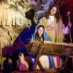 20171221: SLO, Events - Living Nativity Scenes inside Postojna Cave