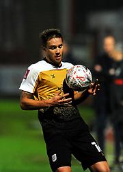 Oliver Lancashire of Crewe Alexandra- Mandatory by-line: Nizaam Jones/JMP - 28/11/2020 - FOOTBALL - Jonny-Rocks Stadium - Cheltenham, England - Cheltenham Town v Crewe Alexandra - Emirates FA Cup second round
