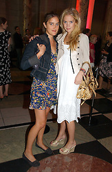 Left to right, VIOLET VON WESTENHOLZ and MARISSA MONTGOMERY at a party at the V&A museum, Cromwell Road, London for three exhibitions - Sixties Fashion, Sixties Graphics and Che Guevara:Revolutionary and icon held on 5th June 2006.<br />