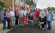 PENSACOLA, Fla. (Oct. 28, 2009) -- Some members of the National Association of Naval Photography (NANP) gather for a quick photo opportunity during a reunion in Pensacola Beach, Florida for a week long event of tours, meetings and awards banquet.  Photo by Johnny Bivera